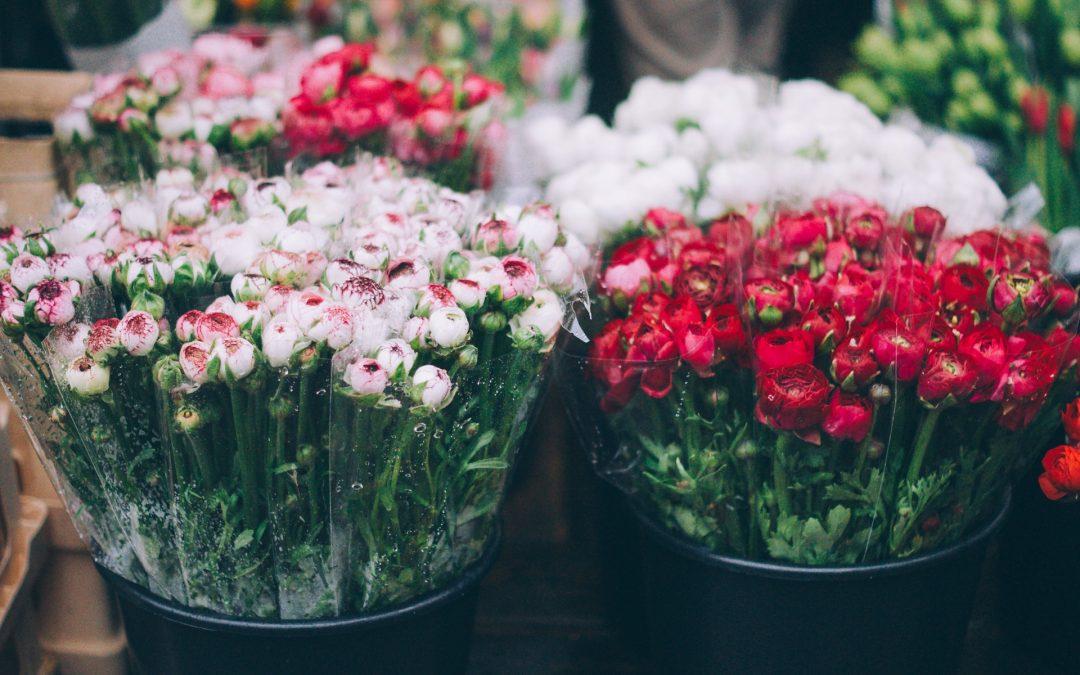 Every girl loves flowers