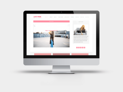Just Pink - A Divi Child theme