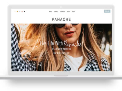 Panache - Feminine Divi Child theme
