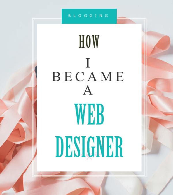 How I became a web designer