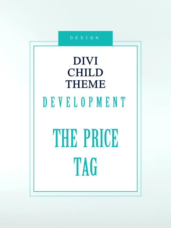 Divi child theme development