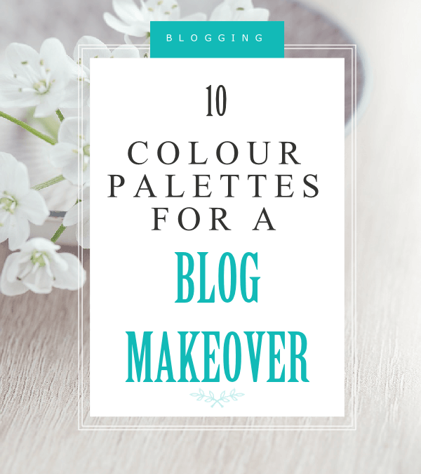 10 stunning colour palettes to inspire your new blog