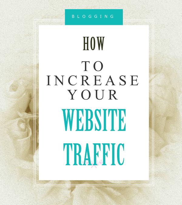7 Ways to Increase website traffic