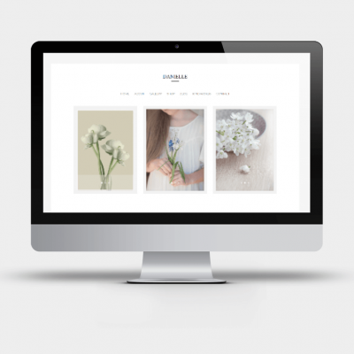 Danielle - A Divi Child theme for bloggers, photographers and weddings