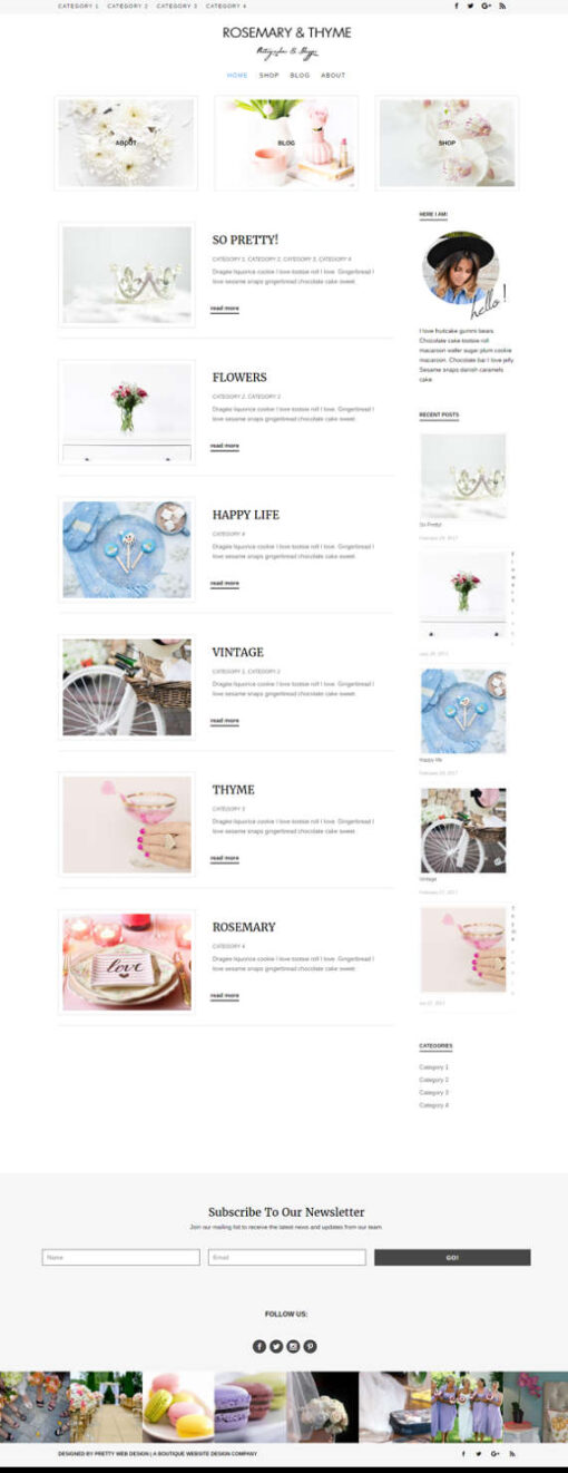 Rosemary - A Divi Child theme
