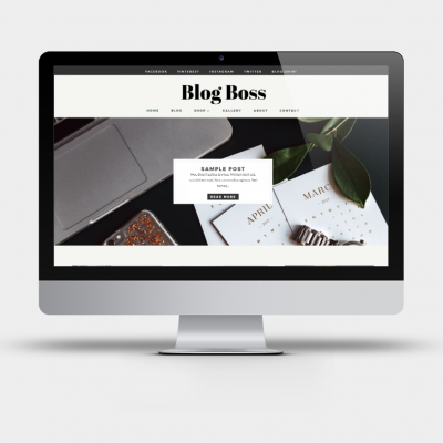 Blog Boss - Divi Child Theme