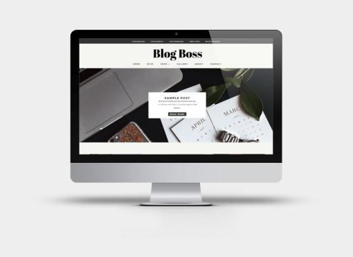 Blog Boss - Divi Child Theme