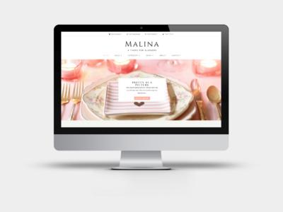 Malina - A Divi Child Theme