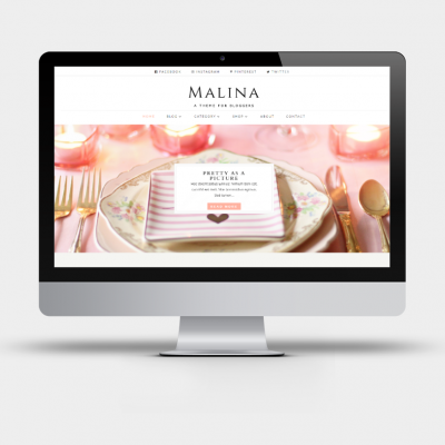 Malina - A Divi Child Theme