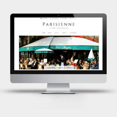 Parisienne - Divi Blog Child theme