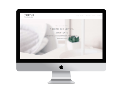 Carter – Divi Child for Social Media Managers