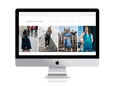 Divi fashion blog Child Theme