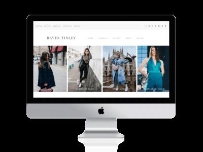 Divi fashion blog Child Theme