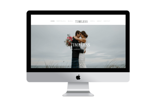 Timeless a divi child theme for photographers