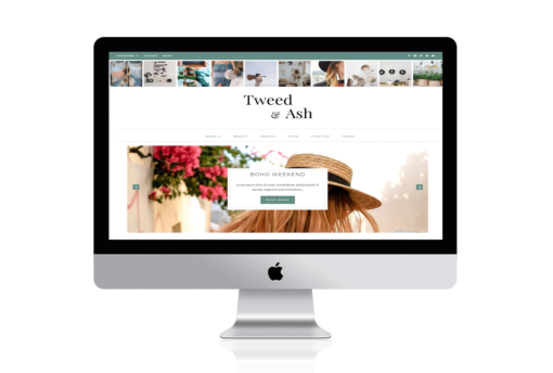 Tweed & As a Divi child theme for bloggers