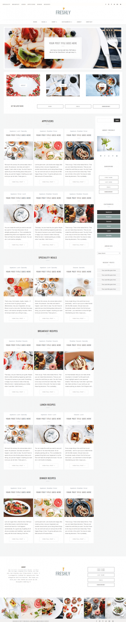 Divi Blog Child Themes are the next best thing to a custom designed Divi builder layout website. Easy to install Divi Blog themes to elevate small business