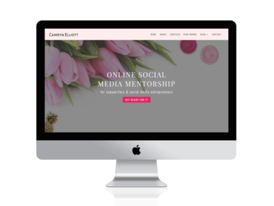 Camryn - Divi Child for Copywriters & Business websites