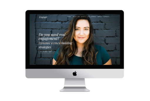 Engage - Divi Coaching Website for Business