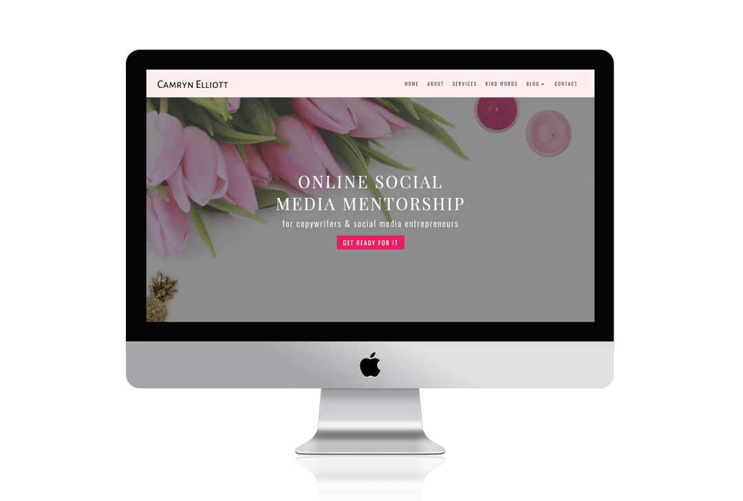 Divi Coaching Website for Business