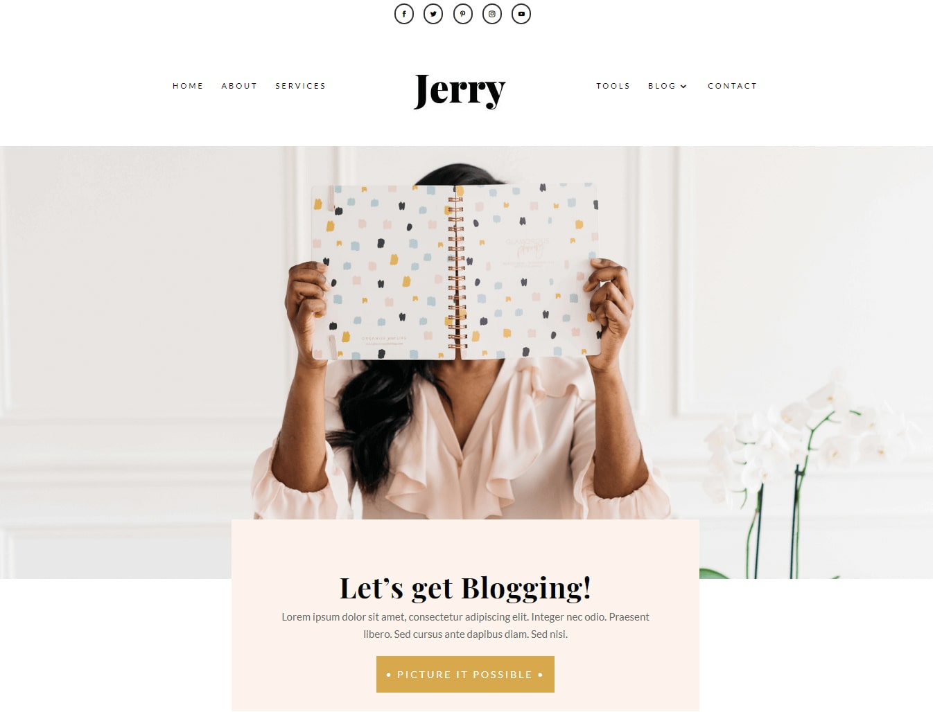 Feminine Divi themes & websites for the modern entrepreneur