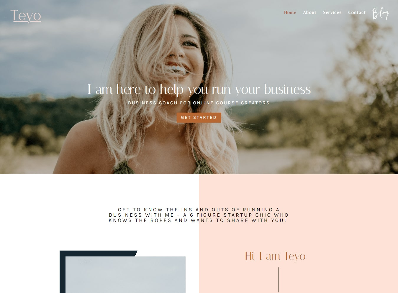 premium Feminine Divi child theme custom built for social media managers, course creators and digital marketers.