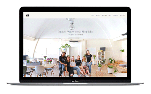 Lil is a frminine Divi Coach Themes built for virtual assistants, coaching websites and small businesses