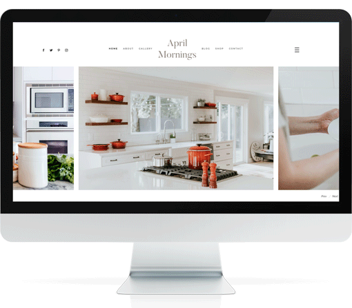 April Mornings Divi Interior Design Theme