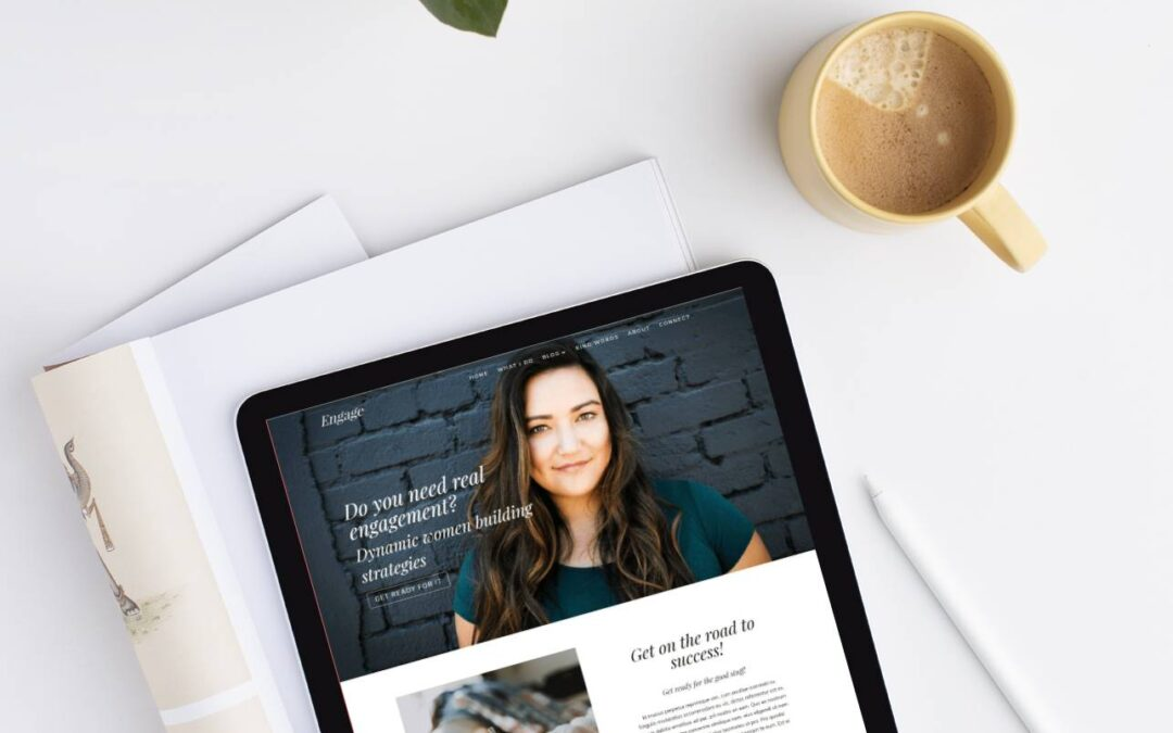 Divi Website Template For Coaches – Engage
